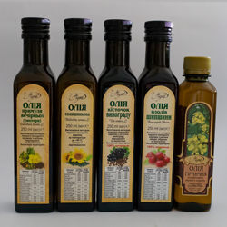 Vegetable oils, food products